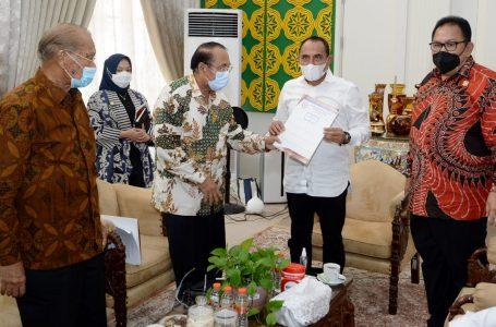 Gubernur Edy Rahmayadi ajak ICK bersama Majukan Karo