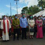 Foto Bersama Wabup & DPRD Nisbar saat menghadiri Perayaan Paskah