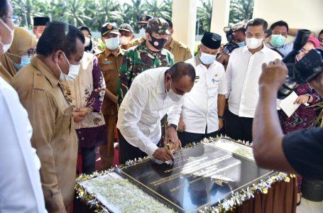 Resmikan Instalasi Pembibitan Ternak Sapi, Gubernur Edy Rahmayadi Palas jadi Lumbung Ternak