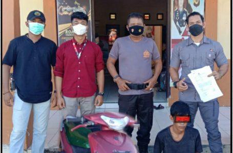 Polsek Teupah Barat Ungkap Pencuri Mesin Robin di Desa Naibos Simeulue