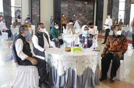 Menkopolhukam RI Melaksanakan Dialog Bersama Forkopimda Jatim dan para Tokoh