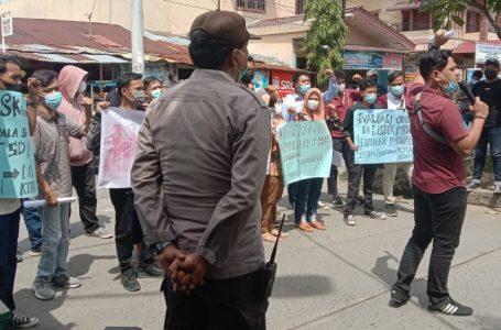 Carut Marut Dinas Pendidikan Kota Medan di Demo LPPI