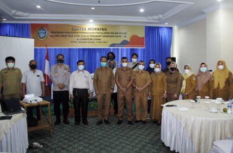 Dinas Kominfo Sumut Gelar Dialog bersama Wartawan Kebijakan PPKM Sejak IdulfitriEfektif Turunkan Angka Covid-19