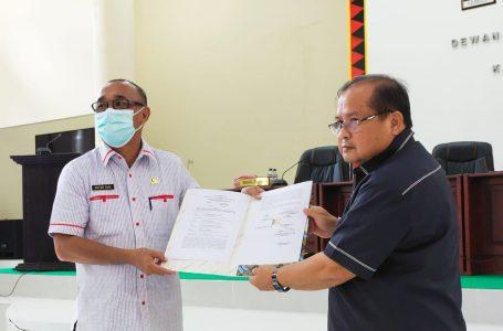 DPRD Nisel Sepakati Rancangan Awal RPJMD Tahun 2021-2026