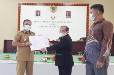 DPRD Nisel Gelar Rapat Paripurna Penyampaian Hasil Reses ke-V
