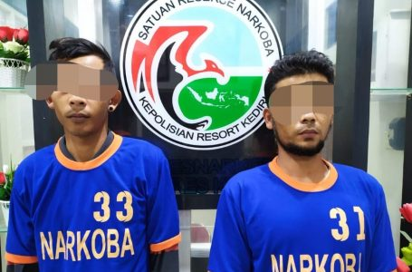 Dua Pria Diringkus Polisi Lantaran Edarkan Narkoba