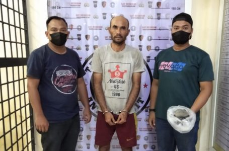 Pelaku Pelempar Kaca Mobil Bus Metro Deli Diciduk Satreskrim Polres Pelabuhan Belawan