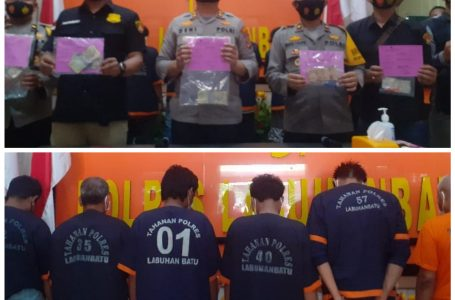 12 Orang Preman Terjaring Tindak Pidana Pungli Diamankan Polres Labuhanbatu