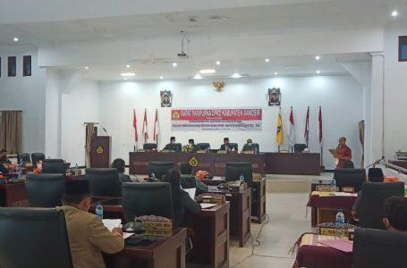 DPRD Tandatangani Nota Kesepakatan RPJMD Samosir