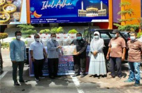 PT Bank Sumut Berikan Bantuan 7.5 Ton Beras Kepada Dompet Duafa Waspada