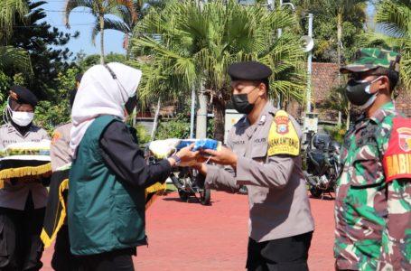 Polres Malang Raya Gandeng Pengusaha Peduli NKRI Untuk Salurkan Bansos Kepada Masyarakat
