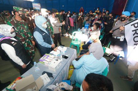 Forkopimda Jatim Cek Vaksinasi di Jombang guna Wujudkan Herd Immunity
