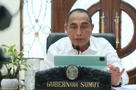 Rapat Evaluasi PPKM Darurat,Gubernur Edy Rahmayadi Laporkan Varian Delta Terdeteksi di Sumut