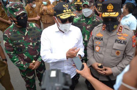 Gubernur Edy Rahmayadi Bersama Kapolda dan Pangdam Pantau PPKM Diperketat di Sibolga
