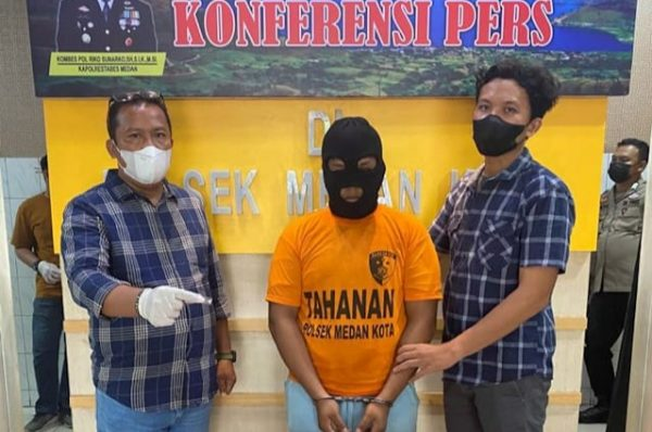 Miliki Sabu, RS Ditangkap Polsek Medan Kota