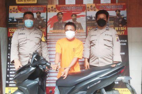 Polsek Medan Area Tangkap Pelaku Curamor di Jermal