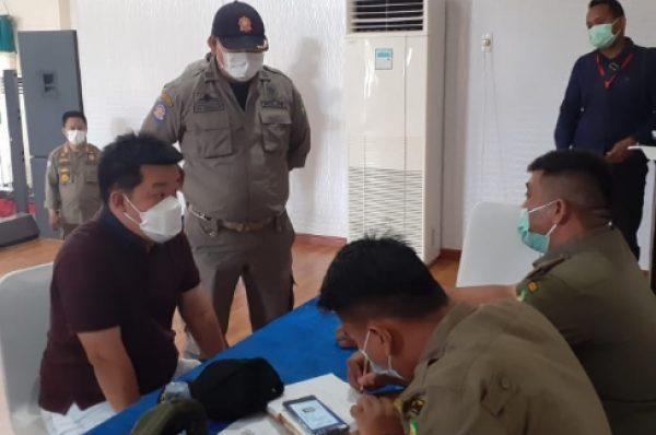 Puluhan Pelaku Usaha Diberikan Sanksi dan Denda Langgar PPKM Darurat