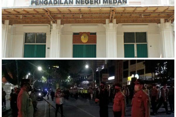PN Medan, Pelanggar PPKM Darurat akan Di Sidang Lapangan