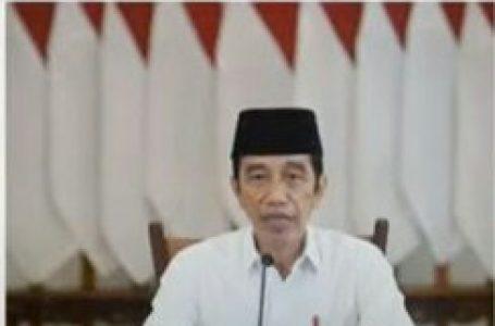 Jokowi Buka Takbir Akbar Idul Adha 1442 H Secara Daring