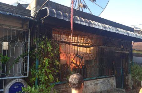 Rumah Ibadah Tionghoa di Jalan Pembangunan Kisaran Ludes Terbakar