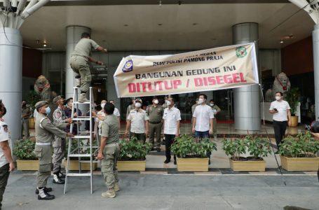 Janji Bayar Tunggakan PBB, Pemko Medan Lepas Segel Mall Centre Point