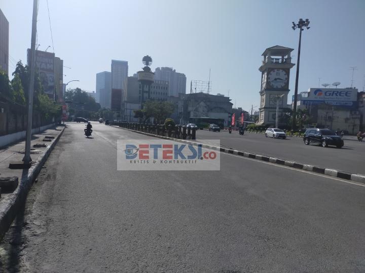 Bundaran Tugu SIB Jl. Gatot Subroto, Petisah Tengah, Kec. Medan Petisah, Kota Medan, Sumatera Utara, Sabtu (17/07/2021) sekira pukul 09:00 WIB.