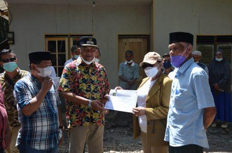 Misbakti Berhasil Bangun 50 Rumah Warga, Pemkab Langkat Berikan Penghargaan