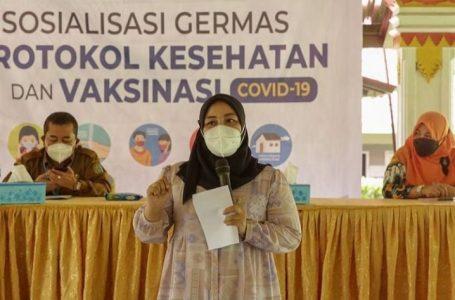 Komisi IX DPR RI, Delia Pratiwi Br Sitepu: Programkan 2000 Vaksinasi dan Sosialisasikan Prokes