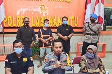 Anak Balita di Paksa Isap Rokok, Akhirnya Ayah Biadab ini Ditangkap Polisi