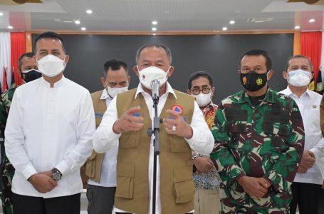 Kasdam I/BB dan Forkopimda Sumut Rakor Bersama Kepala BNPB Untuk Kendalikan Covid-19, Ubah Pandemi Jadi Endemi