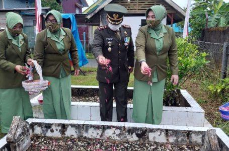 Dandim 0115/Simeulue Pimpin Upacara Ziarah dan Tabur Bunga Peringatan HUT RI ke-76