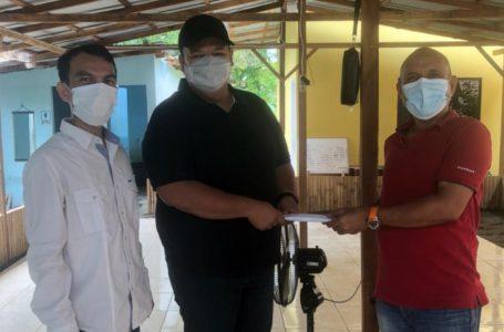 Anggota DPRD Medan M Rizki Nugraha Bantu Pembangunan Pondok Mengaji Martuani Berkarya