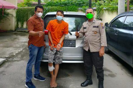 Modus jadi Penumpang, Pelaku Perampok Pengemudi Taksi Online Ditangkap Polisi