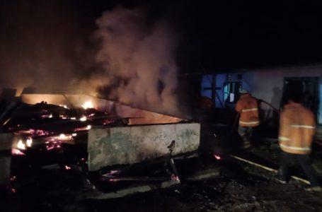 Tiga Unit Hunian Musnah Terbakar di Gomit Dairi