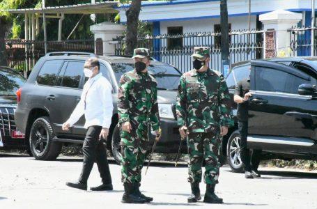 Sigap dan Disiplin, Danrem 081/DSJ Amankan Kunker Presiden Jokowi di Ponorogo