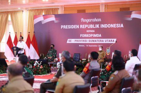 Danlantamal I dan Forkopimda Sumut Terima Pengarahan Presiden RI