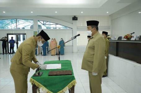 Wakil Bupati Asahan Lantik 17 Pejabat Administrator dan 50 Pejabat Pengawas