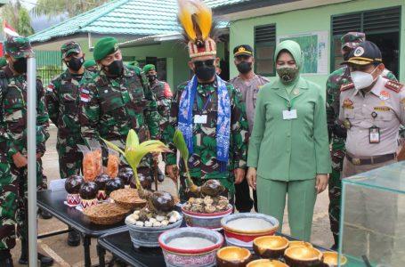 Pangdam I/BB Kunjungi Satgas Pamtas Yonif 131/Brs Di Papua