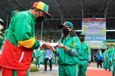 Targetkan 9 Emas, Bobby Nasution Harap Atlet dapat Bangkitkan Semangat Warga Medan di PON XX Papua