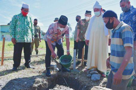 Bupati Sergai Bantu Pembangunan Rumah Suluk Tarekat Naqsabandiyah