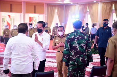 Edy Rahmayadi Laporkan PenurunanKasus Covid-19 Sumut ke Presiden Jokowi