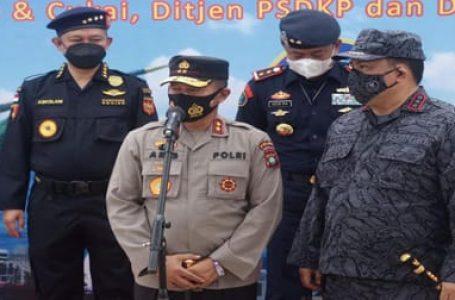 Kapolda Kepri Dukung Penuh Operasi Laut Pencegahan Masuknya Narkoba dari Luar Negeri
