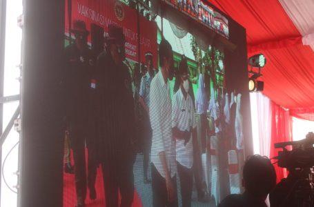 Kapolres Sergai Hadiri Video Conference Kunker Presiden RI