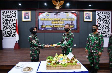 Korps Suplai TNI AL Lantamal I Peringati Hari Jadi ke-73