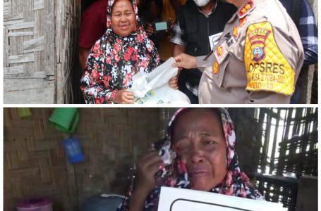 Nek Asbah Viral, Sang Pejuang Dhuafa Cepat Tanggap Kunjungi bersama KSJ
