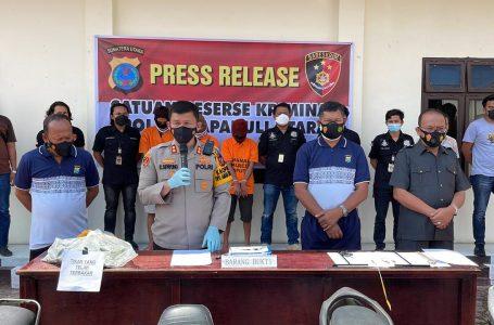 Polres Taput Ungkap Kasus Curanmor, Pembakaran Kakak Ipar dan Narkotika