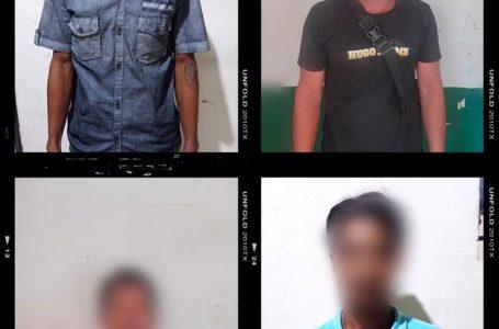Curi Kelapa Sawit, 4 orang di Amankan Polres Sekadau