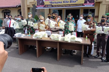 Kapolres Asahan Ungkap Kasus Penangkapan Sabu 34,7 Kg