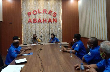 Sukseskan Vaksinasi, Kapolres Asahan Gandeng DPC KSPSI