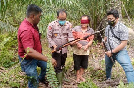 Polsek Pulau Raja Amankan Penembak Bersenjata